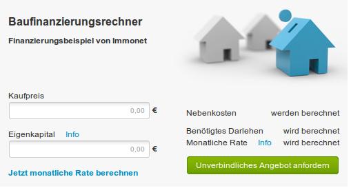Tipps Informationen Rund Um Die Immobilie Finanzierungsrechner